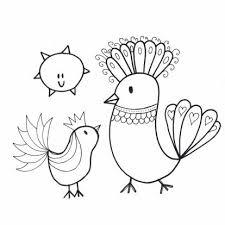 Een Vrolijke Vogel Kleurplaat Kaart Te Verkrijgen Bij Kaartje2go