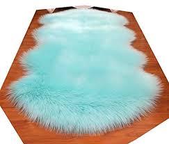 2 x 6 rectangle nursery huahoo faux fur