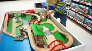 brio train set you