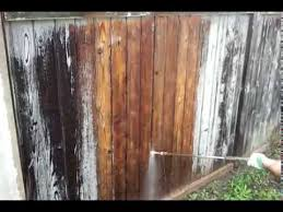 Easy Way To Remove Paint From The Fence With Pressure Washer Youtube