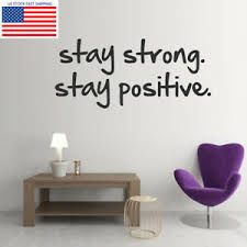 Inspiring Office Saying Quote Wall Sticker Gym Sport Kids Room Art Decal Decor Ebay