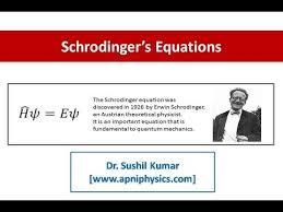 schrodinger time independent equation