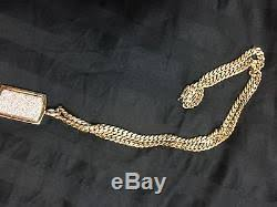 14k solid gold miami cuban link chain