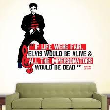 Amazon Com Wqm001117 24 Elvis Impersonators 24 Inch Quote Vinyl Wall Decal Kitchen Dining
