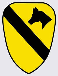 Full Color 1st Cavalry Division Decal
