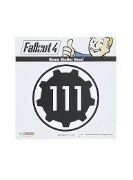 Fallout 4 Vault 111 Car Decal