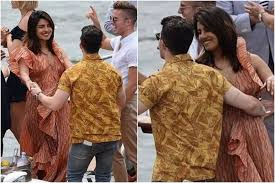 Priyanka Chopra and Nick Jonas Dole Out Couple Goals as They Dance Together  on Yacht, See Pics