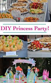 diy princess birthday party