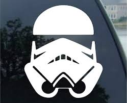 Stormtrooper Star Wars Car Truck Notebook Vinyl Decal Sticker 1032 Vinyl Color White