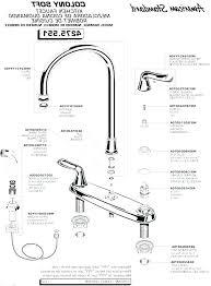 kitchen sink drain assembly diagram
