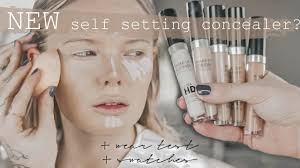 new make up for ever hd concealer self