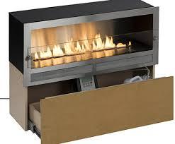 no chimney ethanol fireplace