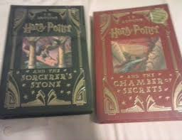 harry potter leather bound collectors
