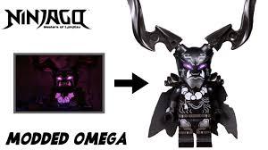 LEGO Ninjago Season 10 |Modded Omega Oni Minifigure| Review and Tutorial!!  - YouTube