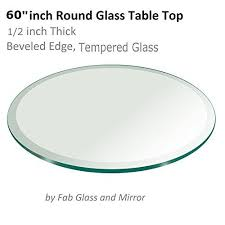 fab glasirror table top 12 thick