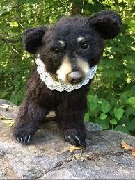 Pawtrait Bears by Brigitte Smith Ellie the Black Bear OOAK | #1874843707