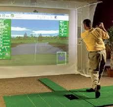 build a home indoor golf simulator