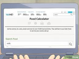 3 ways to calculate food calories wikihow