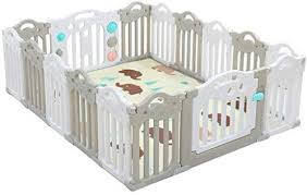 Playpens For Toddlers Adorable Safety Play Center Yard Baby Care Fence Toddler Play Mat Playpen With 16 Colorful Panels Girls Boys Children Crawling For Playroom Nursery Indoor Outdoor Amazon Ae
