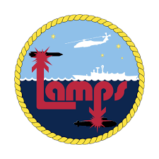 Navy Lamps Vinyl Transfer Decal