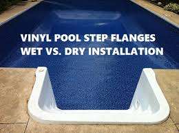 how to install vinyl pool step s