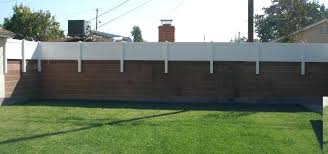 Fence Extender Fence Extenders For Privacy Fence Design Backyard Privacy Backyard