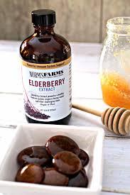 homemade elderberry cough drops tasty