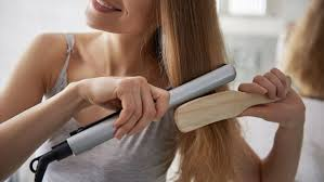 flat irons and hair straighteners