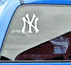 Yankees Car Decal New Logo Vinyl Truck Chrome Auto York Decals For Windows Sticker Sutanrajaamurang