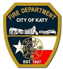 Amazon Com Jr Studio 3x4 Inch Fire Department City Of Katy Shield Shaped Sticker Firefighter Texas Vinyl Decal Sticker Car Waterproof Car Decal Bumper Sticker Kitchen Dining