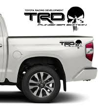Auto Parts And Vehicles Trd Punisher Edition Decals Toyota Tacoma Tundra Truck Vinyl Stickers 2 Car Truck Graphics Decals Planetbeachcanada Com