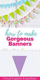 cricut banner