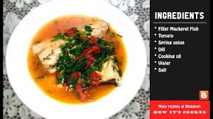 cook Mackerel Fish in Tomato Sauce ...