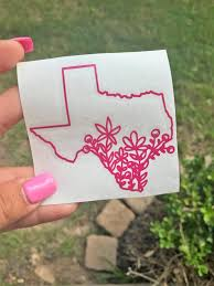 Texas Car Decal Car Decal Laptop Decal Window Decal Etsy