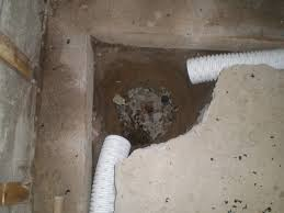 internal and external french drain