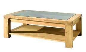 glass table with wood base rectangular