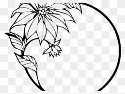 simple clipart tulip border design