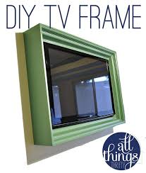how to build a tv frame tutorial