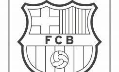 Kleurplaten Fc Barcelona Logo Kleurplaat