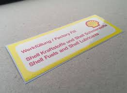 Shell Air Cleaner Decal For 911 1973 1983 Car Bone Pl