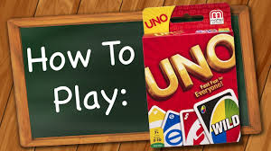 how to play uno you