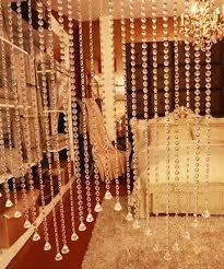 glass crystal beaded curtain