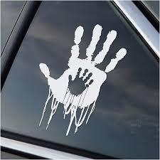 Amazon Com Bridges Baby Hands Car Decal Sticker Cars Laptops Windows White Sports Outdoors