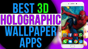 3d parallax holographic live wallpaper