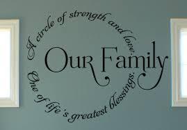 Our Family Circle Iii Wall Decals Trading Phrases