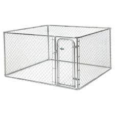 Fencemaster 7 5 Ft X 7 5 Ft X 4 Ft Boxed Kennel 75754 The Home Depot