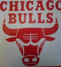 Chicago Bulls Nba Logo Vinyl Decal Sticker Laptop Window Car Yeti 6 Ebay