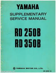 1975 yamaha rd350b service manual