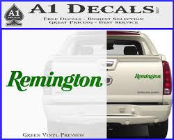Remington Firearms Text Decal Sticker A1 Decals