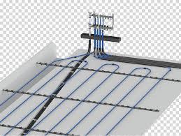 underfloor heating concrete slab water